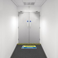 Safety Zone Floor Marking Kits - Batteries Charging
