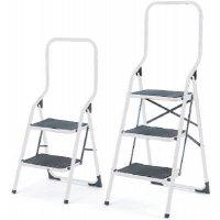 High Backed Folding Steps