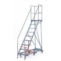 Easy-Steer Mobile Steps