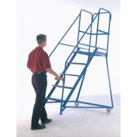 Steel & Galvanised Mobile Safety Steps