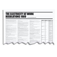 Electricity At Work - Workplace Regulation Wallchart