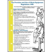 Wallchart/Pocket Guide Provision And Use Of Work Equipment