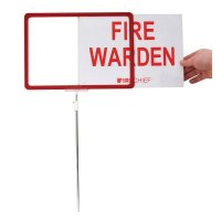 Fire Warden Sign