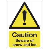 Temporary Winter Car Park Signs