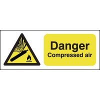 Danger Compressed Air Signs
