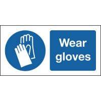 Wear Gloves Signs