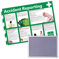 Snap Frame & Accident Reporting Poster Bundle