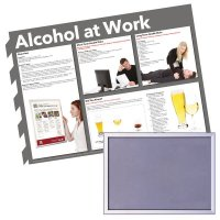 Snap Frame & Alcohol At Work Safety Poster