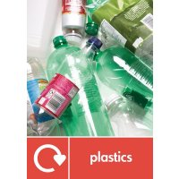Plastics - WRAP Plastic Waste Recycling Pictorial Signs