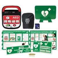 Mediana AED Kits With Signage & Storage