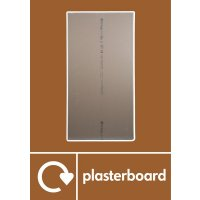 Plasterboard - WRAP Photographic Recycling Signs