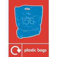 Plastic Bags - WRAP Photographic Recycling Signs