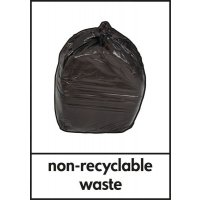 Non-Recyclable Waste - WRAP Photographic Recycling Signs