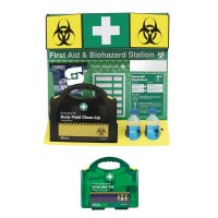 First Aid/Biohazard Stations