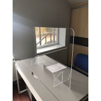 Clear Perspex Partition Screen