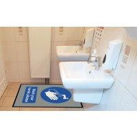 Wash Your Hands Please - Floor Mat