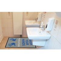 Wash Your Hands - Floor Mat