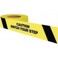 Caution Watch Your Step Warning Tape