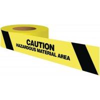 Caution Hazardous Material Area Warning Tape