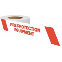 Fire Protection Equipment Warning Tape