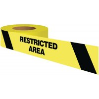 Restricted Area Warning Tape