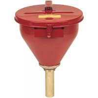 Large Steel Drum Funnel For Flammables