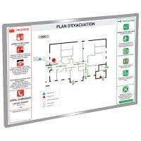 Aluminium Safety Information Display Frames