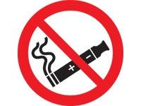No electronic cigarettes