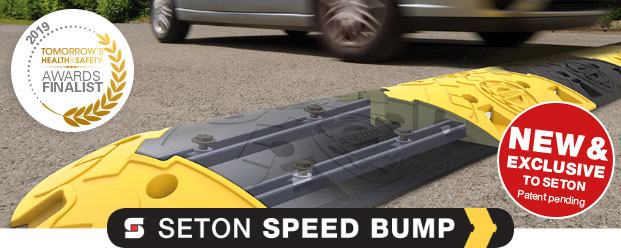 Seton Speed Bump in use on a public road