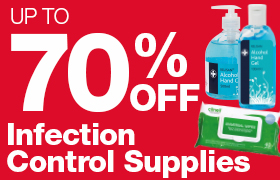 70% off Infection Control Supplies