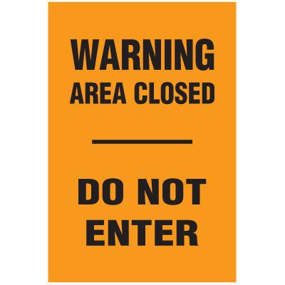 Barricade Signs & A-Frame Signs