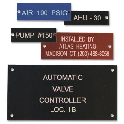 Equipment Nameplates