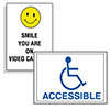 Access & Security Signs & Labels