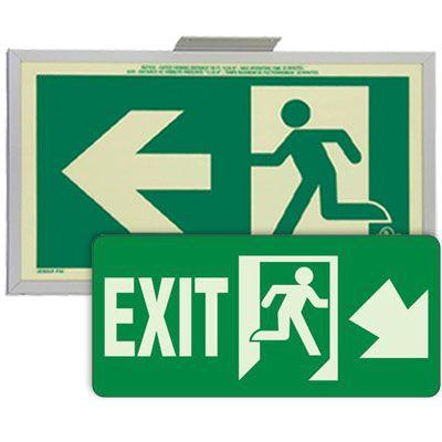 Running Man Signs