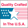 Quality Crafted in the USA Country Of Origin Labels
