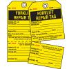 2-Part Production Status Tags - Forklift Repair