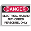 Premium Fiberglass OSHA Sign - Danger  - Electrical Hazard