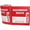Hazwaste & Drum Labels-On-A-Roll - Hazardous Waste