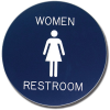 Custom Shaped Engraved Signs - Round Style