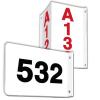 Custom 2-Way Aisle Markers