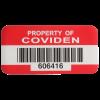 SetonGuard® Custom Barcode Asset Tags