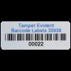 Custom Tamper Evident Asset Labels