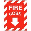 Self-Adhesive Vinyl Fire Equipment Signs - Fire Hose