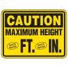 Semi-Custom Heavy-Duty Giant Clearance Sign