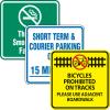 Custom Traffic & Parking Signs