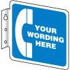 Semi-Custom Telephone Signs