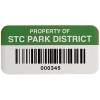 Custom Outdoor-Rated Asset Tags