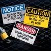 Custom OSHA & ANSI Hazard Labels