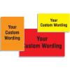 Custom Size Fiberglass Facility Signs