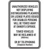 California Semi-Custom ADA Signs